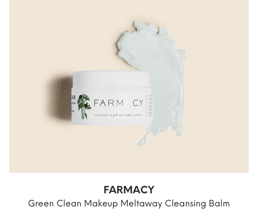 Farmacy  Clean Makeup Meltaway Cleansing Balm Review